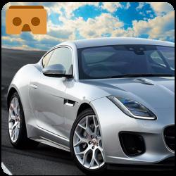 Vr car logo